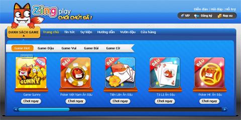 Download Game Danh Bai Zing