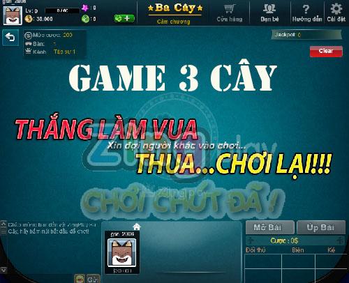 Ba Cây ZingPlay