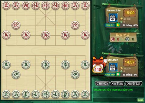Game chơi cờ tướng
