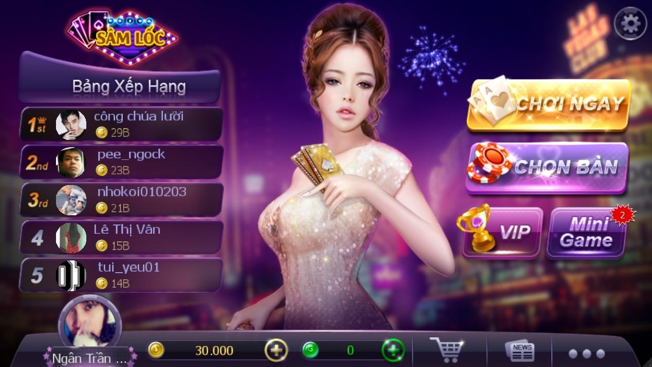 Game bài Sâm online Zingplay