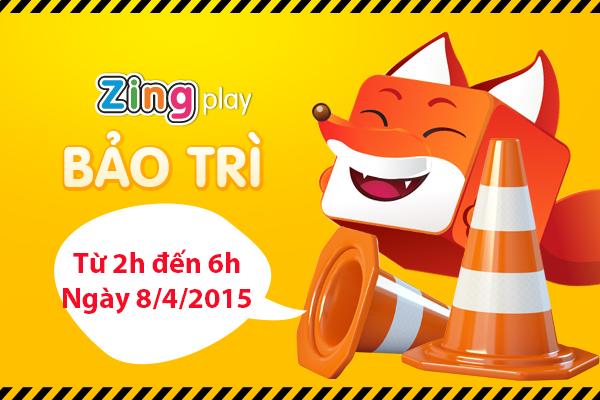 Bảo trì game chơi đánh bài zingplay