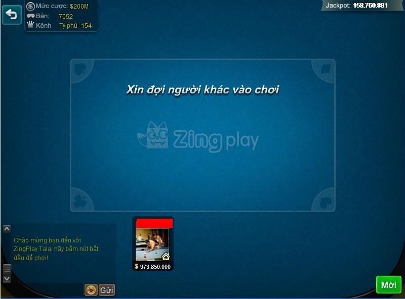 Mời người chơi game phỏm tá lả online